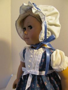 1812 Regency Dress and Bonnet.  $30.00, via Etsy.