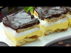 Gatiti deodata o portie dubla! Copiii o cer in fiecare weekend! Pudding Vanille, No Bake Desserts, Tiramisu, Cheesecake, Deserts, Cooking, Ethnic Recipes, Cake Batter, Dessert