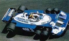 Out of all 6 wheeled F1 cars, Tyrell P34 was prob'ly the weirdest one, with 2 pairs of wheels *in front*.