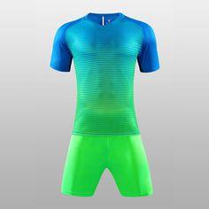 New Mens Boys Cool Colors Design Short Sleeve Football Jerseys Training  Soccer Sets Custom Football Jersey Sports Uniform Jersey be9ecdadb