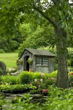 Charming Country Garden Shed-