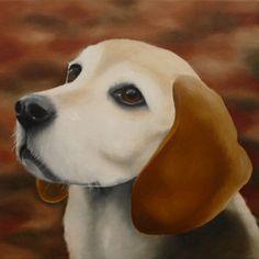 Beagle Nicky - Astrid Wielinga