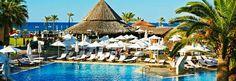 Atlantica Creta Paradise SSSS+  Kreta    16.000 kr    Sandstrand - nej    Børnepool - ja Heraklion, Best Hotels, Places Ive Been, Traveling By Yourself, Dolores Park, Paradise, City, Blue, Cities