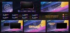 Yu Gi Oh, Web Design, Game Design, Layout Inspiration, Graphic Design Inspiration, Twitch Streaming Setup, 80s Theme, Display Banners, Overlays Picsart