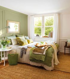 Master Bedroom Ideas Rustic Relaxing Awesome 26 Awesome Green Bedroom Ideas Mom and Dad S House Bedroom Paint Colors, Green Paint Colors Bedroom, Bedroom Green, Home Decor, Woman Bedroom, Bedroom Colors, Rustic Master Bedroom, Bold Bedroom, Sage Green Bedroom