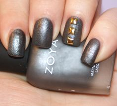 Princess Polish: Zoya Loredana with gold studs