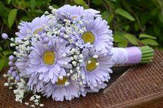 http://www.weddingstuff2014.com   Gerbera Daisy Bridal Bouquet Silk Wedding Flowers by MyDayBouquet, $85.00