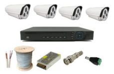 PAKET 4 CCTV AHD OUTDOOR 1 Megapixel