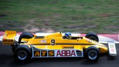 Slim Borgudd, ATS-Ford D4, 1981 Belgian GP, Zolder