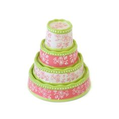temp-tations® by Tara: temp-tations® Floral Lace Layer Cake Measuring Cup Set