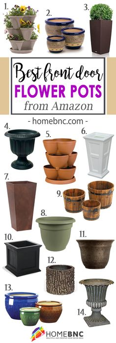 Love #1! I bet it is amazing when the plants are big! Best Flower Pots from Amazon