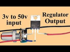 Mosfet Powerful Voltage Regulator IRFZ44 Mosfet - YouTube Electronics Mini Projects, Hobby Electronics, Led Projects, Electrical Projects, Arduino, Electric Radiator Fan, Electronic Circuit Design, Power Supply Circuit, Speaker Box Design