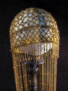 1920s beaded head dress