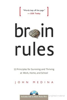 The science geek in me loves this book for all its research and talk of neurons and how our brain works. But it's also a great resource for improving presentations and teaching.