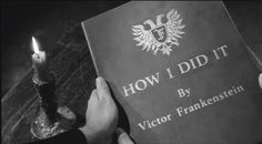 Fake books in movies that we wish we could read: How I Did It by Victor Frankenstein in Young Frankenstein
