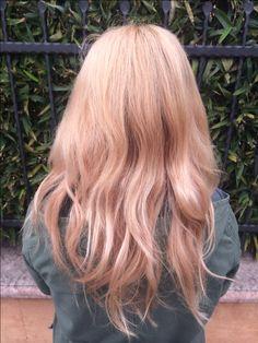 Rose gold hair, hair