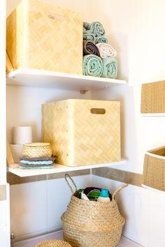 Stauraum für kleine Badezimmer IKEA Bad