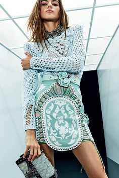 Balmain Resort 2018 Fashion Show Collection #jadealyciainc www.jadealycia.com