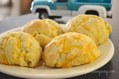I can't take credit for this absolutely phenomenal recipe. The credit goes to Gourmet Girl Cooks. I adapted it only slightly.  These biscuits are so good that every time I go t…