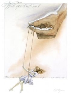 Prophetic art, woman swinging on swing held by God's hand. wee! Psalm 28:7 The Lord is my strength and my shield; in him my heart trusts, and I am helped; my heart exults, and with my song I give thanks to him.