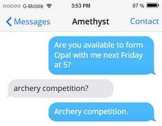 ARCHERS HATE HER! Local woman is Giant | Texts Between Gems