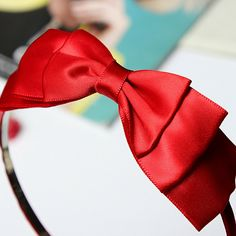Cheap hair accessories for children, Buy Quality hair accessories directly from China headbands hair accessories Suppliers: Hot Bow Hairband Soft Elastic Bowknot Headband Hair Accessories For Children Adults Red Hair Turban, Bow Hairband, Headband Pattern, Headband Hairstyles, Types Of Fashion Styles, Hair Bows, Women's Accessories, Girl Outfits, Pure Products