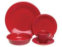 Scarlet 20-pc. Dinnerware Set by Fiesta
