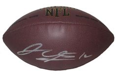 Josh Gordon Autographed NFL Wilson Composite Football, Proof Photo. Josh Gordon Signed NFLFootball, Cleveland Browns, Baylor Bears,Proof  This is a brand-new Josh Gordonautographed NFL Wilson composite football.Joshsigned the footballin silver paint pen.Check out the photo of Joshsigning for us. ** Proof photo is included for free with purchase. Please click on images to enlarge. Please browse our websitefor additional NFL & NCAA footballautographed collectibles.1 Notable…
