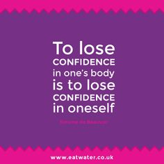 Confidence starts on your dinner plate. :-)