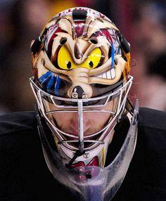 Best goalie masks of 2013 NHL season Goalie Gear, Hockey Helmet, Ice Hockey Teams, Goalie Mask, Hockey Goalie, Hockey Stuff, Hockey Logos, Coyotes Hockey, Phoenix Coyotes