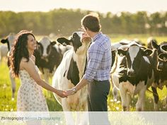 Country Engagement Photos this couple wins. they have cows and took pictures with them! - Rustic Farm Anniversary Session by Moore Photography Country Couple Pictures, Country Couples, Cute Couple Pictures, Couple Photos, Family Photos, Couple Stuff, Couple Things, Fall Pictures, Couple Photography