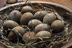 Primitive Egg Bowl Fillers