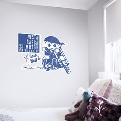 Miro, Kids And Parenting, Stickers, Rock Roll, Home Decor, Bebe, Decoration Home, Rock And Roll, Room Decor