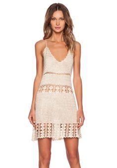 UNIF Dharma Dress en Crema | REVOLVE