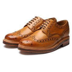 Large Image of Grenson Archie Tan