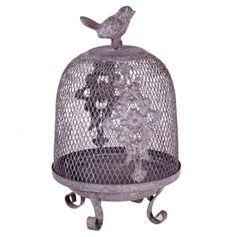 1000 images about decorative antique bird cages on for Cage a oiseau decorative