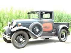 1931 Ford  Chop it, channel it, and put in an early hemi with a huffer!