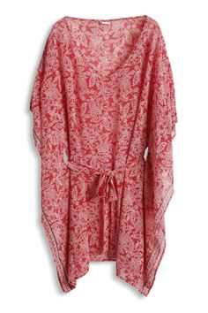 Sheer chiffon #tunic by #Esprit