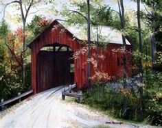 Covered Bridge | Heart Stark Art