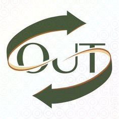 Out - Courier Logo logo