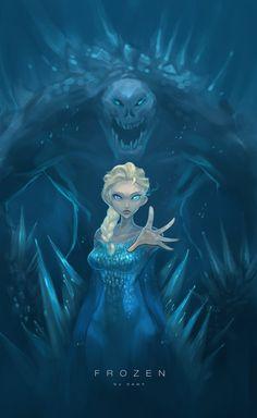 The 'Villain' Elsa by No1Dawn.deviantart.com on @deviantART
