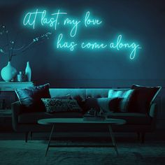 Add text and photos to a vast selection of custom products and personalized gifts for a truly one-of-a-kind purchase perfect for any occasion. Personalized Neon Signs, Custom Neon Signs, Led Neon Signs, Dormitory, Mirror With Lights, Neon Lighting, Living Room Designs, Bedroom Decor, Neon Bedroom