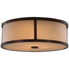 """Feiss Preston Collection 14"""" Wide Ceiling Light"""