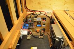 Here is how I installed the electronics for my van. Includes pictures and info on wiring, crimping, fusebox, split-charge relay and mains hookup system.