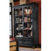 "- Camden 80"" H Bookcase in Black"