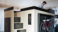 「部屋に置く部屋」は、都市でのミニマルな暮らしを追求した答え | ROOMIE(ルーミー)