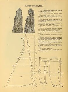 Ladies' Polonaise 1888 pattern