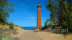 Little Sable Point Lighthouse by Michael Rucker