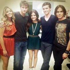Pretty Little Liars- Sasha,Keegan,Lucy,Ian and Tyler