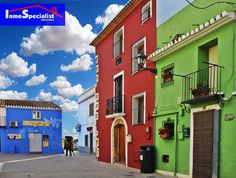 Denia. Barrio de pescadores. Spain